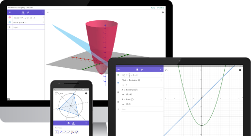 Geogebra Free Math Apps Used By Over 100 Million Students Teachers Worldwide