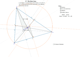 27. The Euler Line