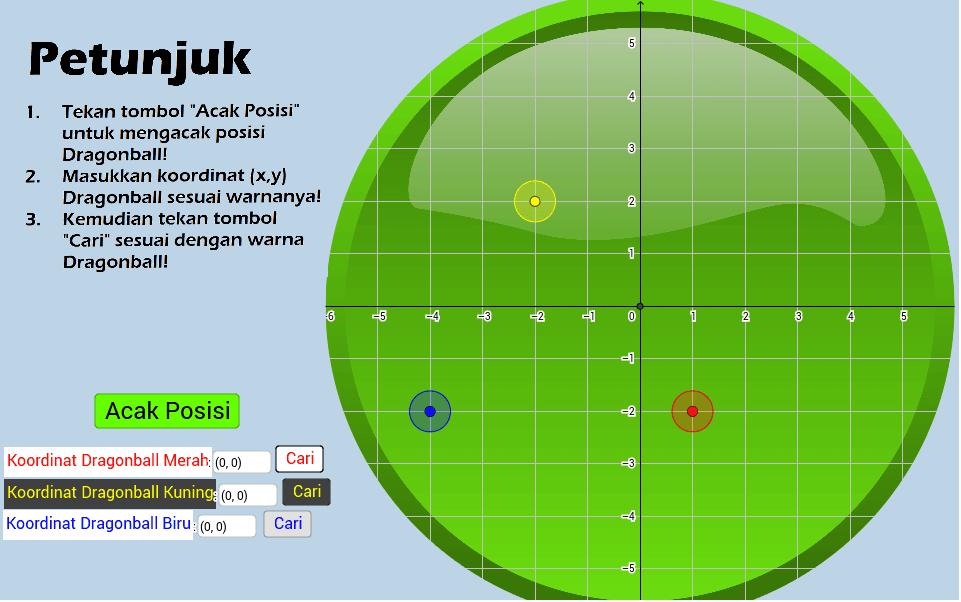 Game koordinat cartesius geogebra geogebra applet ccuart Gallery