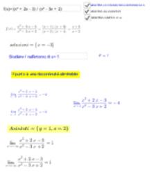 STUDIO DI f(x) IN UN INTORNO DI x PRESTABILITO