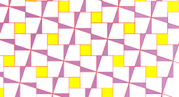 Pythagorean Theorem by Tessellation # 31 Tiling