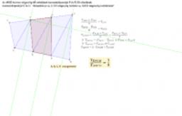 Általános négyszög harmada 2