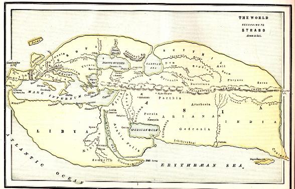 rekonstrukcija Eratostenove karte svijeta