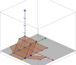 hranol zkosený podstava obdélník 3