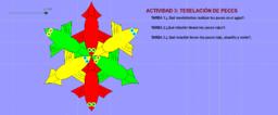 ACTIVIDAD TRES: TESELACIÓN DE PECES (Muñoz & Zetty)