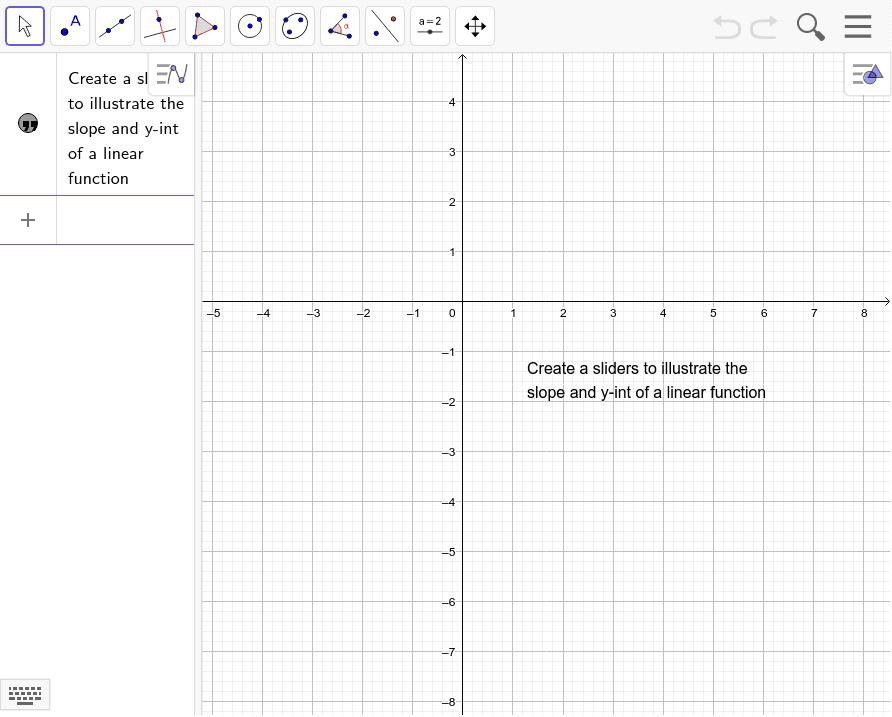 Creating a slider