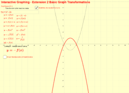 Extension 2 Transformations