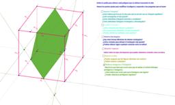 Polígonos en un cubo