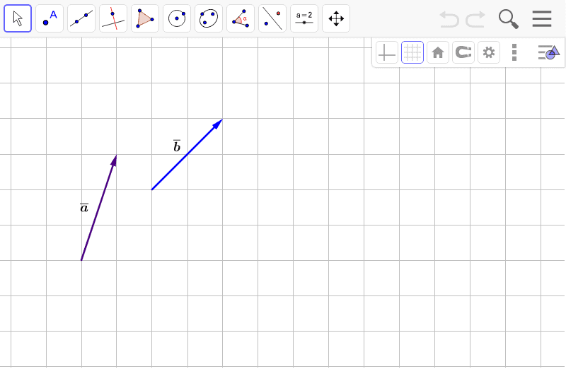 Piirrä vektorien erotus