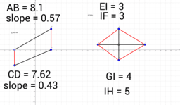 Proving Parallelograms