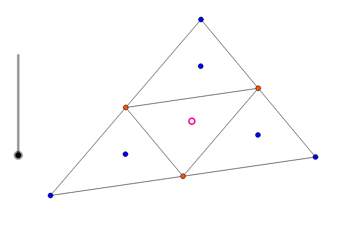 Quartertriangles and incircles Press Enter to start activity