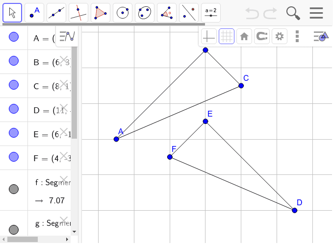 Testing Triangles