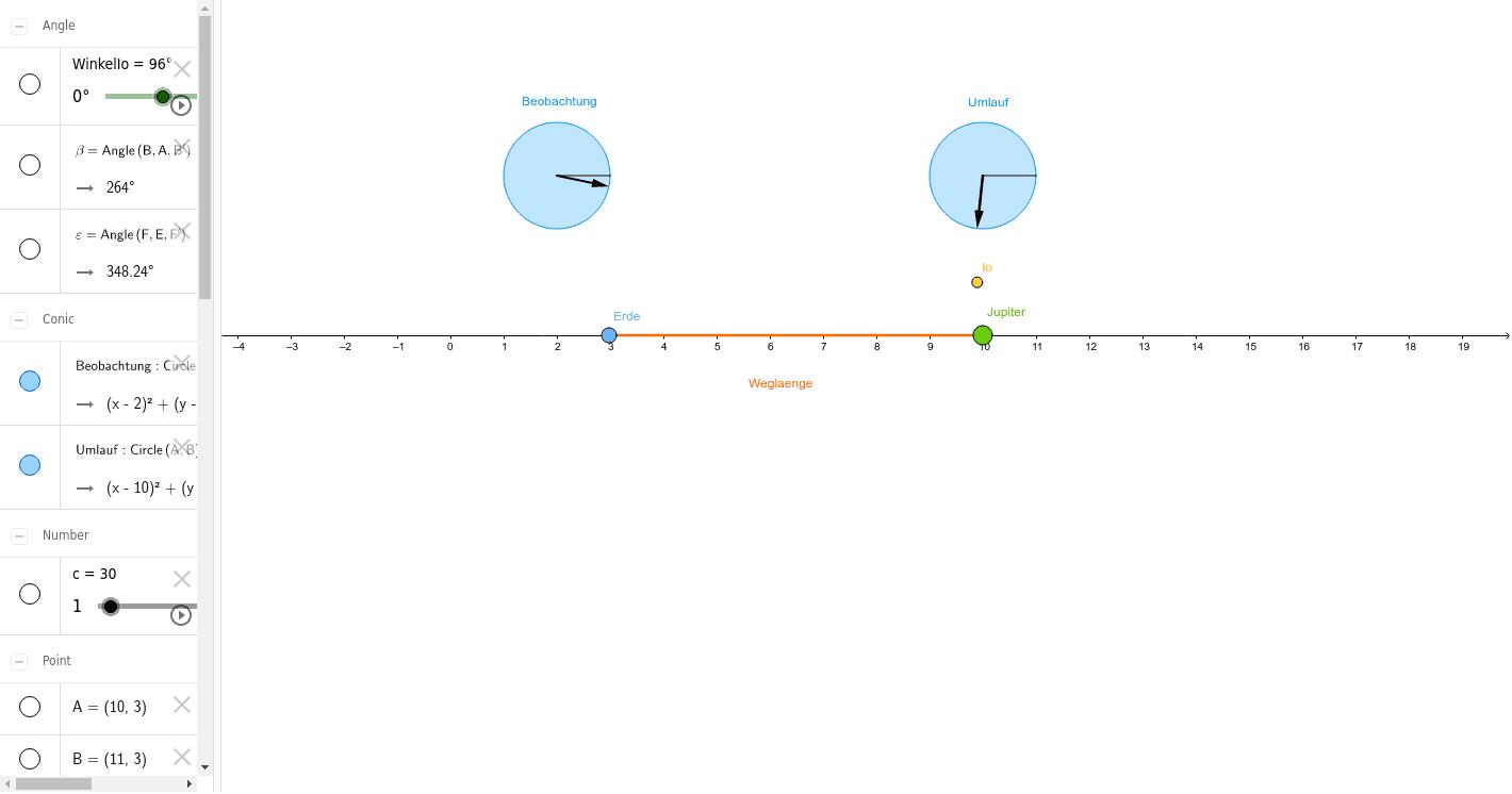 2-2-1 Lichtgeschwindigkeit