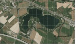 Wie groß ist die Wasserfläche des Pichlinger Sees?