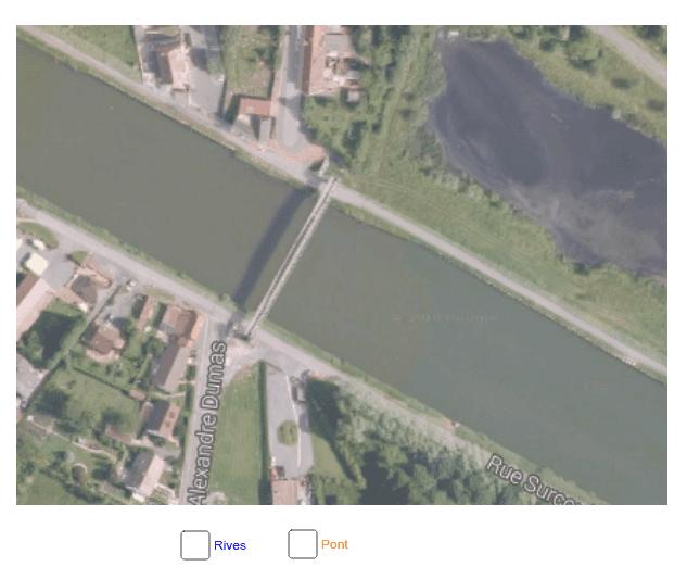 """Angles Alternes Internes - Pont perpendiculaire aux rives parallèles Tapez """"Entrée"""" pour démarrer l'activité"""