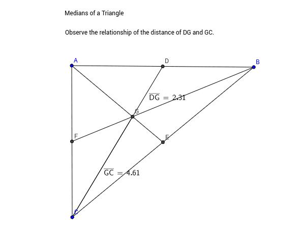 Βαρύκεντρo τριγώνoυ