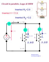 Legge di Ohm. Circuiti in serie e in parallelo