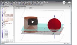 Dedução da fórmula do volume da esfera