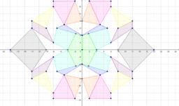 disegno con assi di simmetria