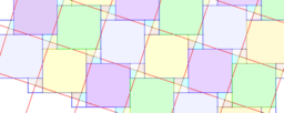 Pythagorean Theorem by Tessellation # 8 Tiling