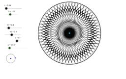 Rosassa amb simetria variable