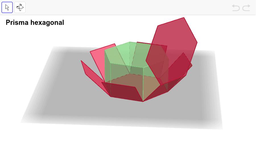 Amb les eines pots moure el prisma