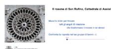 Simmetrie del rosone di san Rufino in Assisi