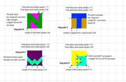 Lengths in Squares