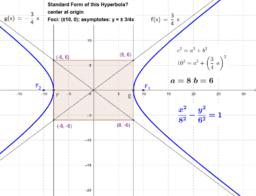 Hiperbola egyenlete