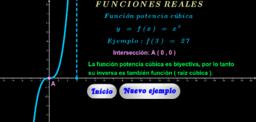 Función potencia cúbica