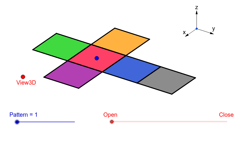Activity 1: Net of a CUBE Press Enter to start activity