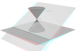 Copy of Cone Cross Sections (anaglyph glasses)
