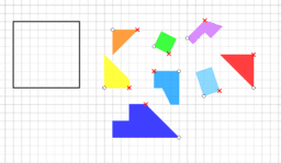 I nostri «tangram» (Nicolò)