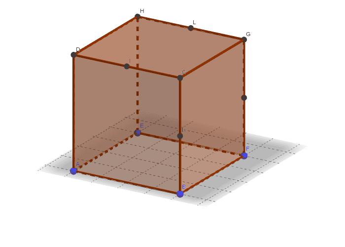 """Ouvrez cette ressource avec l'appli GeoGebra (menu en haut à droite) pour faire tourner le cube dans l'espace Tapez """"Entrée"""" pour démarrer l'activité"""