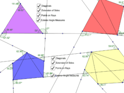 Interior & Exterior Angle Measures of Polygons