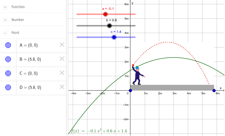 Lernerfolgskontrolle: Einstiegsaufgabe Ballwurf Nr.1