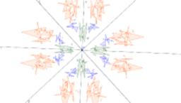 Kaleidoscope  #3 Angle -45