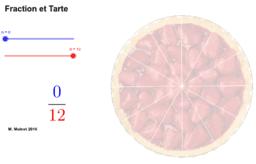 Fraction et Tarte