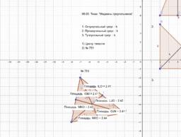Медианы треугольника