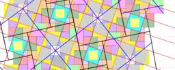 Pythagorean Tessellation # 28 Tiling