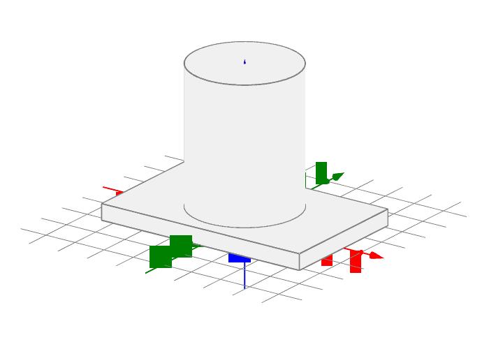 Vereinfachter Entwurf eines Ersatzteils für einen 3D-Print