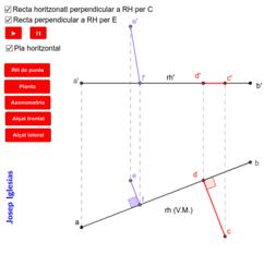 Dièdric - Perpendicularitat