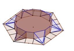 折り紙テント正六角形