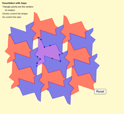 Triangle Tessellation with Gaps