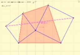 Dos cuadrados articulados