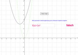 Graphen von Quadratischen Funktionen - Übung 3
