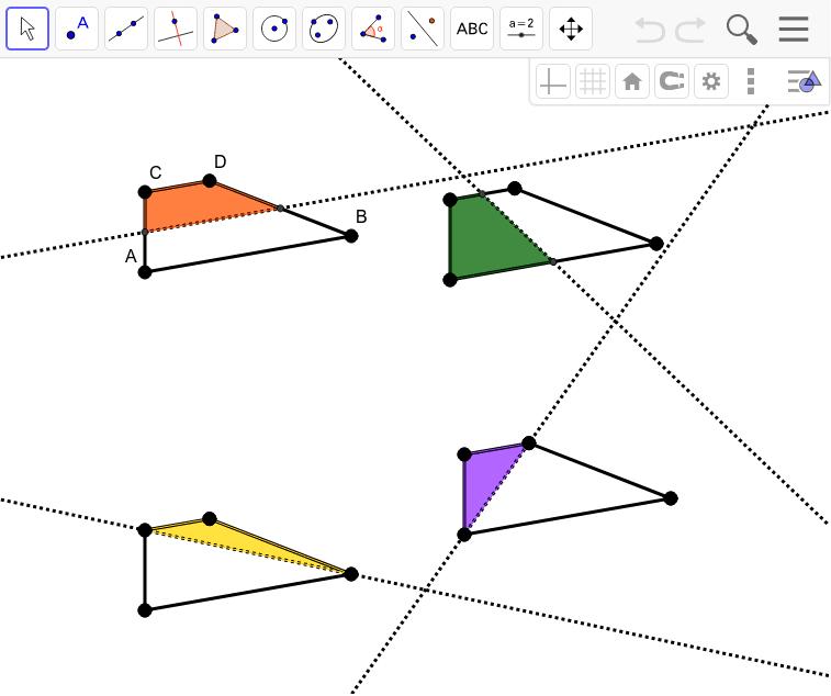 Trapezoid Reflectional Symmetry Press Enter to start activity