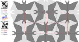 M. C. Escher Tessellation Sketch Pad