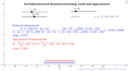 Binomial Konfidenzintervall