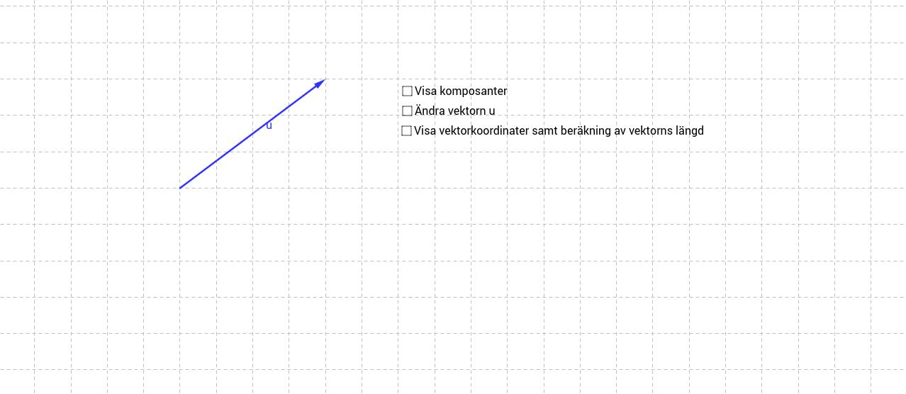 Ma1C - Längden av en vektor